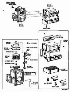 Heating  U0026 Air Conditioning - Heater Unit  U0026 Blower For 1980
