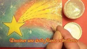 Comment Faire Une Etoile : comment dessiner une jolie toile filante et brillante ~ Nature-et-papiers.com Idées de Décoration