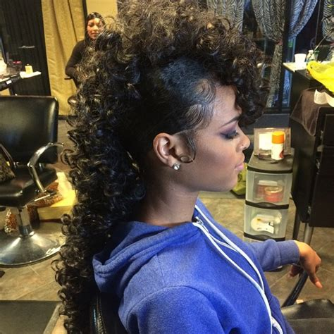 weave mohawk hairstyles 23 weave hairstyle designs ideas design trends