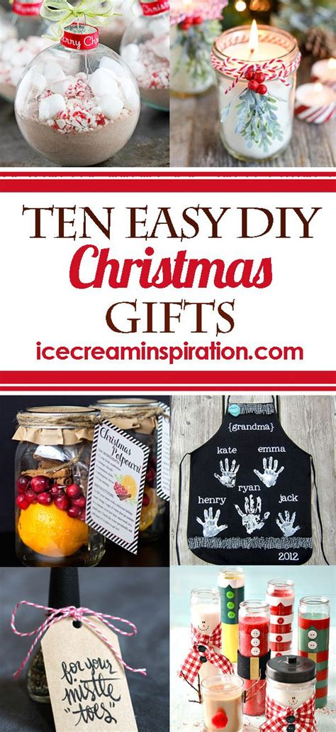 easy diy christmas gifts     quickly