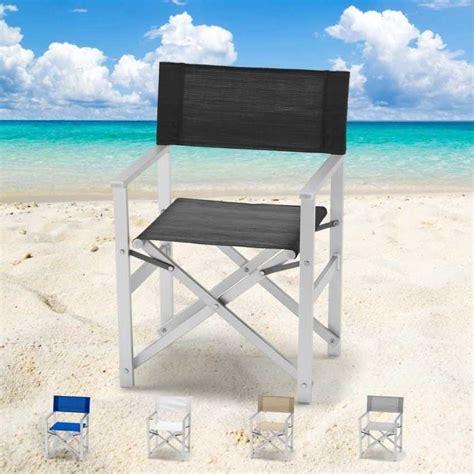 sedie regista alluminio sedia da mare richiudibile salva spazio idfdesign