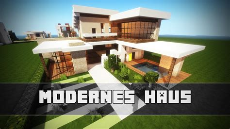 Kleines Modernes Haus  Minecraft Tutorial Youtube