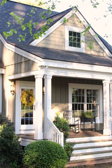 cottage front doors on traditional home