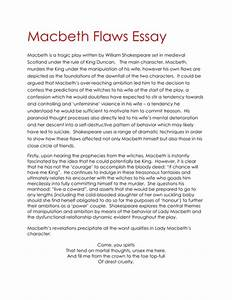 Political Science Essays Macbeth Blood Essay Conclusions Essay On Good Health also Essay Papers Online Macbeth Conclusion Essay Th Century French Women Beowulf  My Hobby English Essay