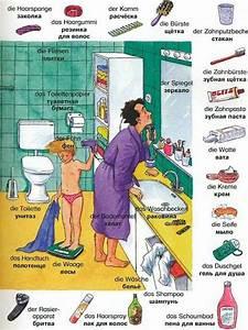 Wortschatz Das Badezimmer Mogi Skola Stranih Jezika