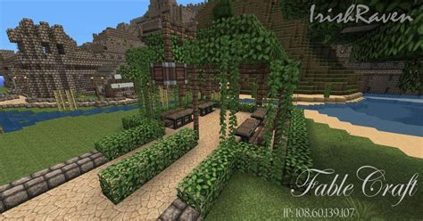 Fancy Minecraft Simple Garden Ideas With Designing Home