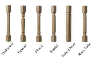 kitchen cabinet spindles introducing cabinet columns kitchen island legs western 2776