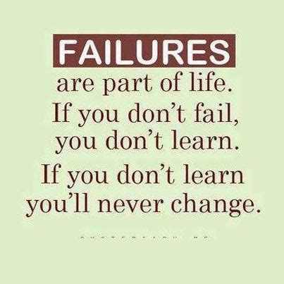 famous failure quotes sayings