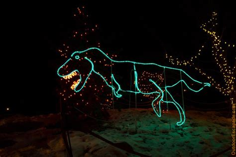 the calgary zoo in calgary alberta zoolights