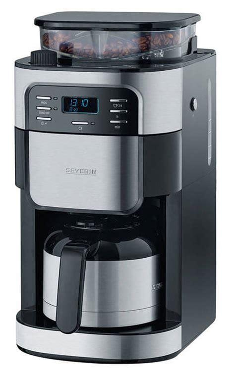 severin kaffeemaschine mit mahlwerk kaffeemaschine mit mahlwerk und thermoskanne test kaffeeheld