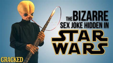 The Bizarre Sex Joke Hidden In Star Wars Youtube
