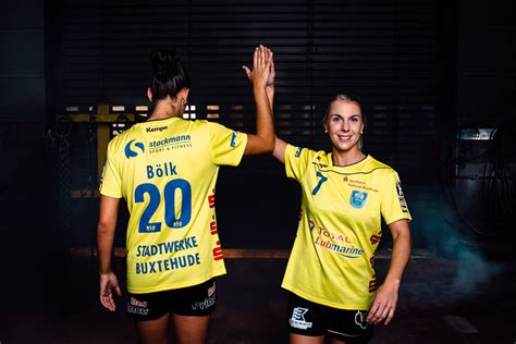 bsv handball bundesliga frauen bsv handball bundesliga frauen 123   Emily Boelk und Lone Fischer