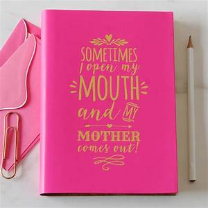 mother's day journal by undercover | notonthehighstreet.com