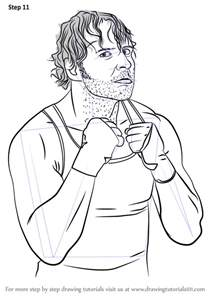 HD wallpapers dean ambrose coloring pages