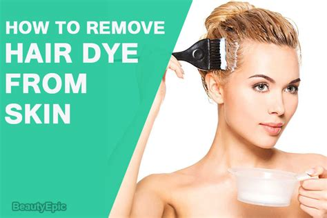 how to remove hair color from skin how to remove hair dye from skin at home