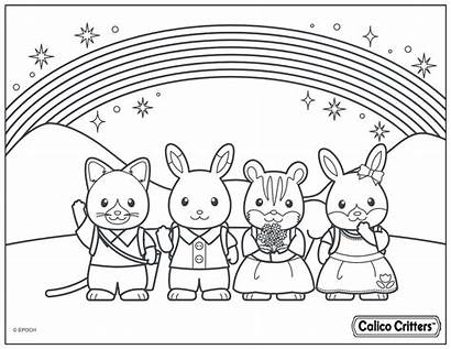 Calico Coloring Critters Pages Sheets Crayola Printable