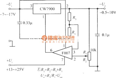 Adjustable Output Integrated Regulated Power Supply