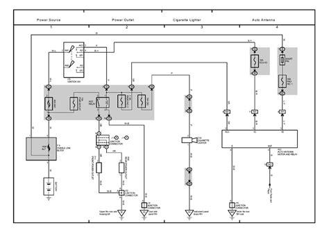 Lexu Rx300 Electrical Wiring Diagram by Lexus Rx300 Wiring Power Schematic Wiring Diagram