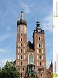 St. Mary's Basilica Or Mariacki Church - Famous Gothic ...