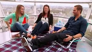 fast and furious 6 cast on ellen - YouTube