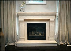 Stone Fireplace Mantel Surround