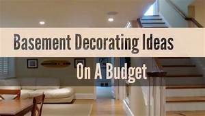 Basement, Makeovers, On, A, Budget
