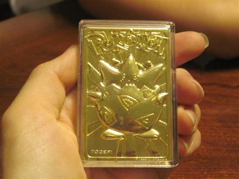 Nov 14, 2020 · although some pokémon cards are not worth more than $1, some worth tens and hundreds of dollars due to their rarity and are regarded as the holy grail, especially the first edition cards. How Much Is A Gold Pokemon Card Worth