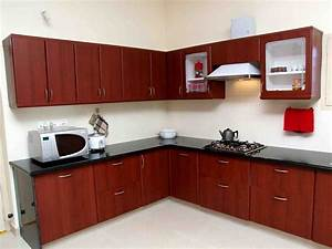 Simple interior design for kitchen with design ideas for Interior decoration for very small kitchen