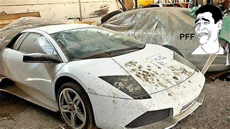 80 Abandoned Supercars And Luxury Cars Around The World
