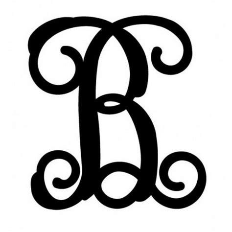 large black metal letters cursive vine monogram font address signage  crafts ebay