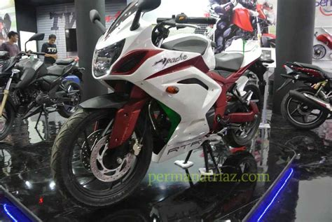 Tvs Apache Rtr 200 4v Modification by Modified Tvs Apache Rtr 200 In Indonesia With Images