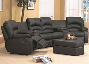 Living room sectionals shop factory direct for Reclining sectional sofa with ottoman