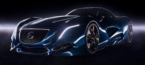 mercedes benz amg supercar concept newfoxy