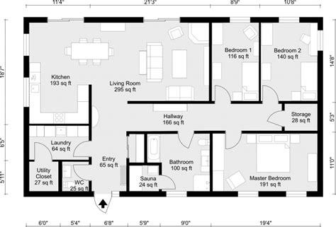 room floor plan maker 2d floor plans roomsketcher