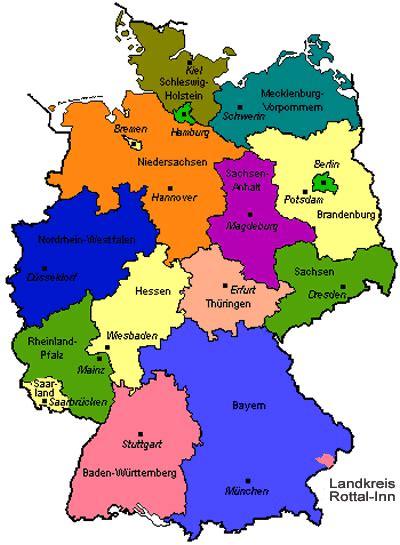 karte der bundesrepublik deutschland bild deutschlandkarte