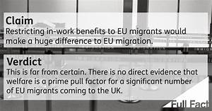 Would restricting in-work benefits to EU migrants reduce ...
