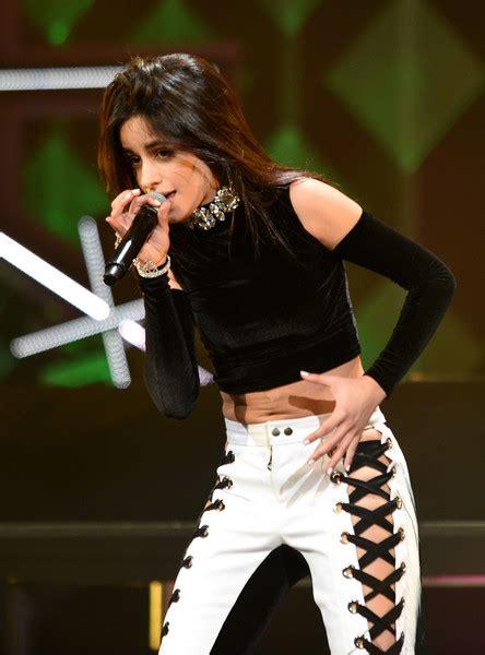 Camila Cabello Kiss Jingle Ball Show