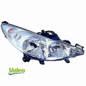 Feux Avant 207 : phare valeo droit 2 lampes peugeot 207 de 2006 2009 ~ Dode.kayakingforconservation.com Idées de Décoration