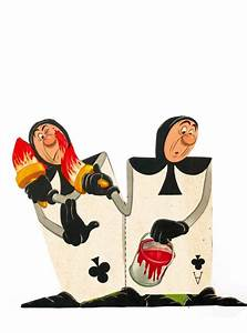 Alice In Wonderland Characters Disney Card Guards | www ...