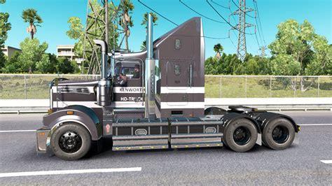 kenworth t906 kenworth t908 for american truck simulator