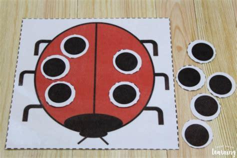 smart math activity  ladybug craft  kids