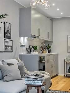 Cuisine Pour Studio : petite cuisine pour studio ou petit appartement http ~ Premium-room.com Idées de Décoration