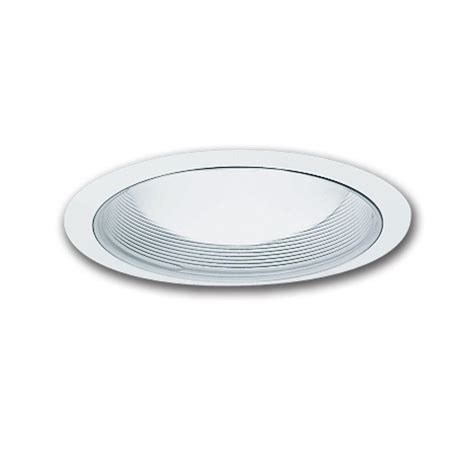 halo light trim rings halo e26 series 6 in white recessed lighting baffle with