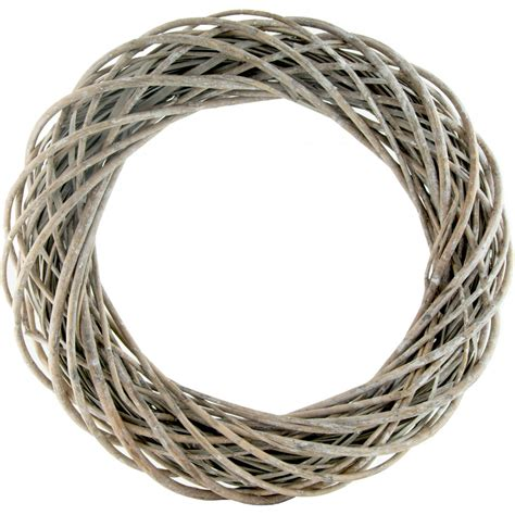 how to make a willow wreath 24 quot round willow branch wreath form 84424 craftoutlet com