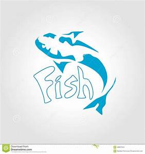 Fish Logo Design Vector Background Vector Illustration ...