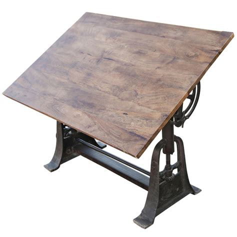 drafting table desk professional industrial adjustable drafting table at 1stdibs