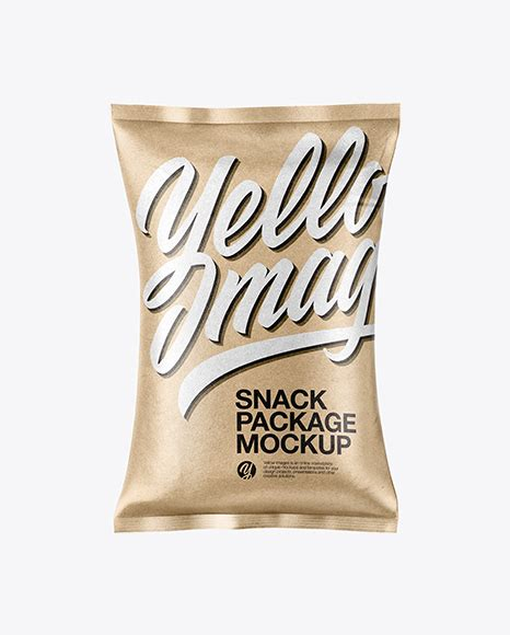 World's best curated collection of mockups for designers. Metallic Snack Package Mockup - Matte Snack Package Mockup ...