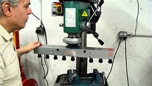 EXAMPLE - Loose Quill on Drill Press with Multi-Drill Gang