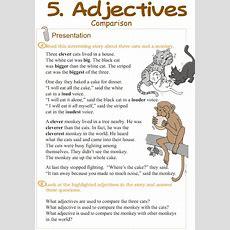 Grade 3 Grammar Lesson 5 Adjectives  Comparison  Grammar  Pinterest  Grammar Lessons