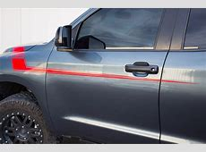 Toyota Tundra 0713 Vinyl Graphics for Front Side of Truck